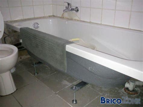 comment poser une baignoire acrylique la r 233 ponse est sur admicile fr