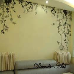 vines vinyl wall sticker wall decal tree decals wall