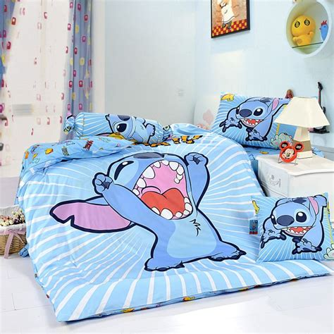 stitch sky blue disney bedding sets disney bedding