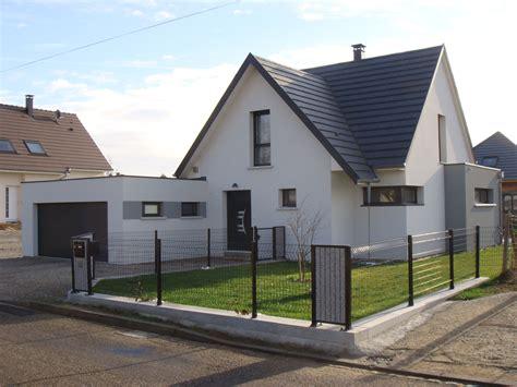 maison contemporaine garage toit plat