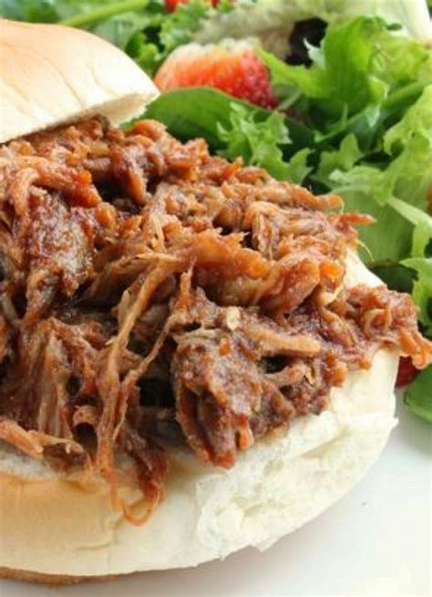 pulled pork crock pot it s my favorite at potlucks freezes well for easy meals you