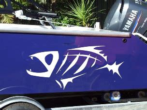 Crestliner Fishing Boat Decals by Crestliner Custom 22 Vinyl Boat Hull Decals Decal Sticker