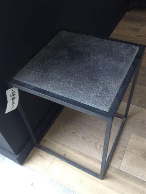 table de chevet en fer forg 233
