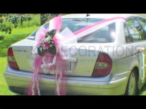decoration voitures de mariage