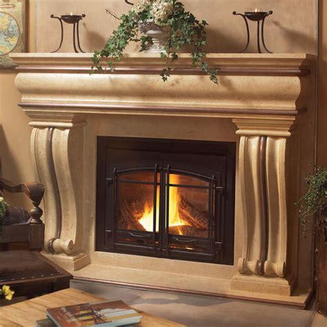 1106536 Cast Stone Fireplace Mantel, Stone Mantle