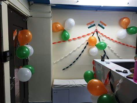 decorating office cubicle for independence day picture