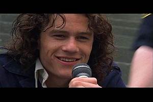 10 Things I Hate About You Heath Ledger Singing
