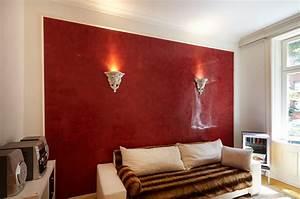 Wohnzimmer Wandfarbe Sand : farbgestaltung wohnzimmer streifen ~ Markanthonyermac.com Haus und Dekorationen