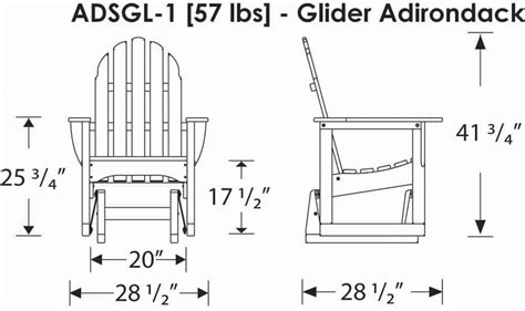 woodwork adirondack bench glider plans pdf plans