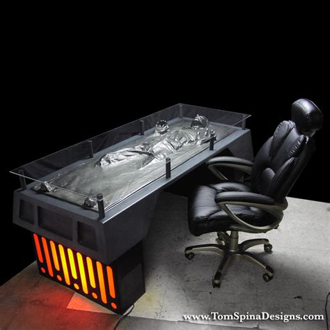 Han Solo Frozen In Carbonite Desk  The Green Head