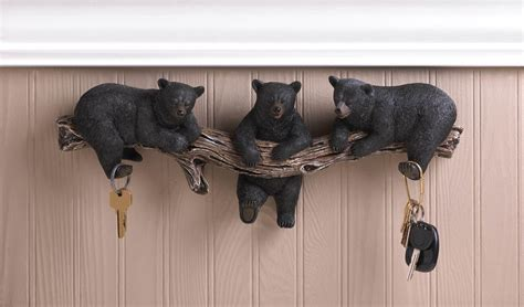 Black Bear Wall Hooks Wholesale At Koehler Home Decor How To Decorate A Room For Baby Shower Butterfly Decorations Rice Crispy Treats Checklist Template Joint Games Regalos De Vintage Themed Ideas Fruit Table