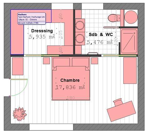 plan suite parentale avec salle de bain et dressing 4 plan suite parentale home d 233 co