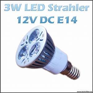 Led E14 Strahler : led strahler spot 3w 12v e14 warmweiss f r solaranlage g nstig kaufen ~ Markanthonyermac.com Haus und Dekorationen