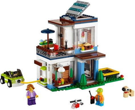 31068 1 modular modern home brickset lego set guide and database