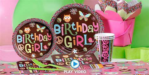 Hippie Chick Birthday Party Supplies  Hippie Chick