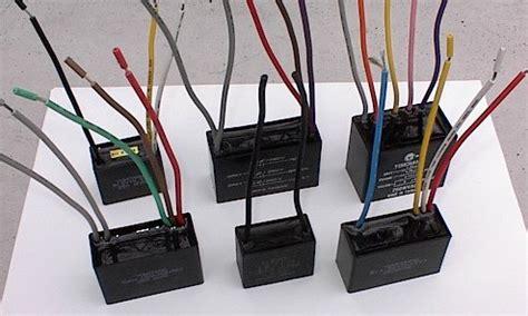 capacitors ceiling fans
