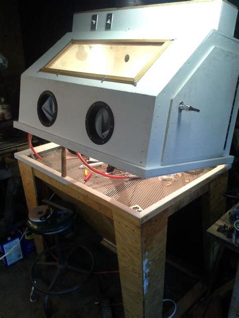 100 harbor freight blast cabinet glass how to turn a cheapo hf blast cabinet into a