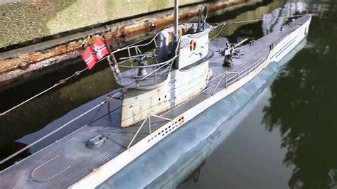 German U Boat Torpedo Watch by R C Torpedo Shot From U Boat Dk Models 1 48 Scale Youtube