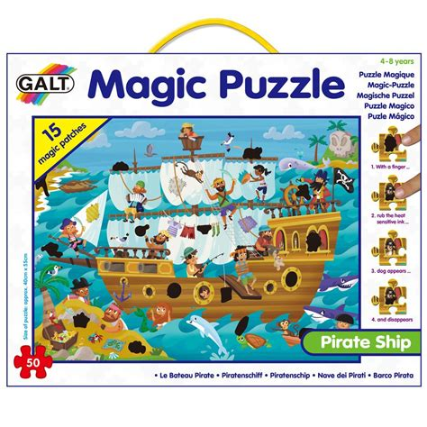 Schip Puzzel by Pirate Ship Magic Puzzle Puzzles Learning Puzzles