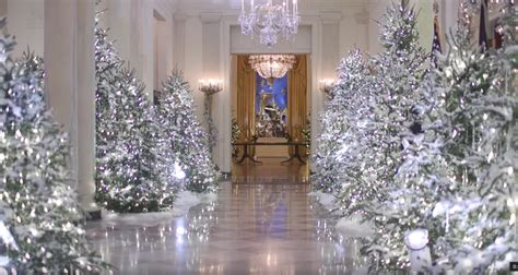 Trump White House Decorated For Christmas
