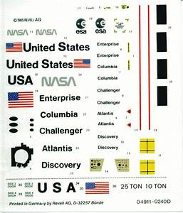 Space Shuttle Model Decals (page 3) - Pics about space