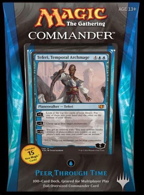 best of the 2015 magic commander decks autos post