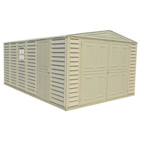 shop vinyl resin storage sheds at lowes