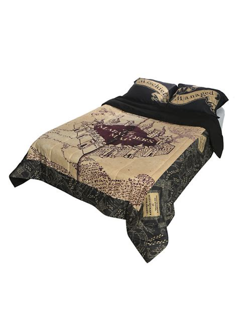 harry potter the marauder s map comforter topic