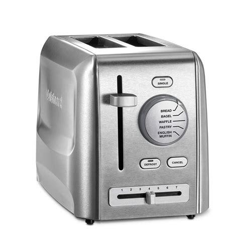 Cuisinart 2slice Stainless Steel Custom Select Toaster