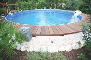 Stahlwandpool In Erde Einlassen : gut holz schwimmbad zu ~ Markanthonyermac.com Haus und Dekorationen