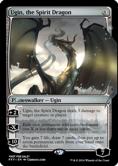 ugin the spirit this is the planeswalker from the