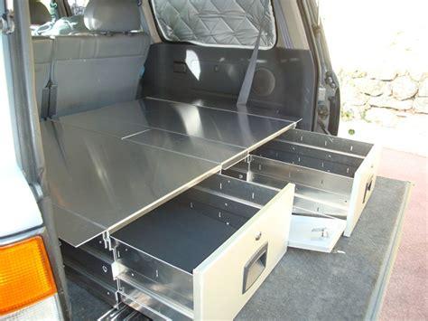 amenagements interieurs 4x4 tiroirs de rangement car box