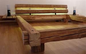 Bett Holz Dunkel : bett selber bauen f r ein individuelles schlafzimmer design freshouse ~ Markanthonyermac.com Haus und Dekorationen