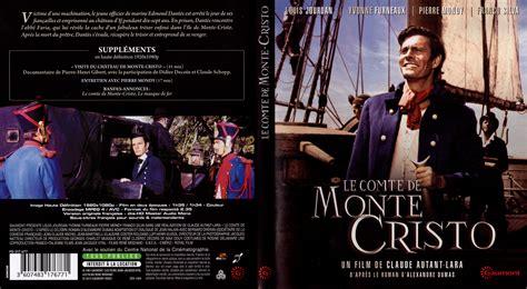 jaquette dvd de le comte de monte cristo 1961 cin 233 ma