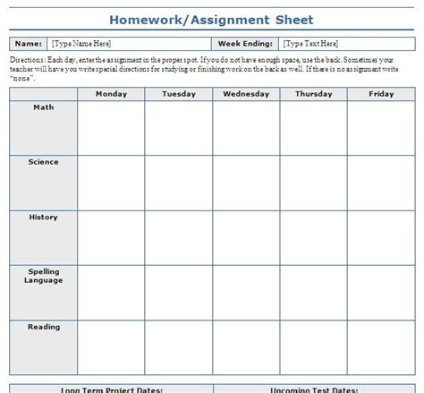 Weekly Homework Sheet  Dradgeeport133webfc2m. Best Powerpoint Template. Tag Sale Sign Template. Sale Resume Examples. Persuasive Essay On Technology Template. Objective Statement On Resume Template. Public Policy Cover Letter Template. Medical Support Assistant Duties Template. Resume You Out These Types Template