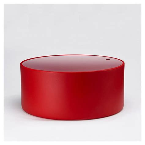 pouf bas outdoor table wow 470 pedrali