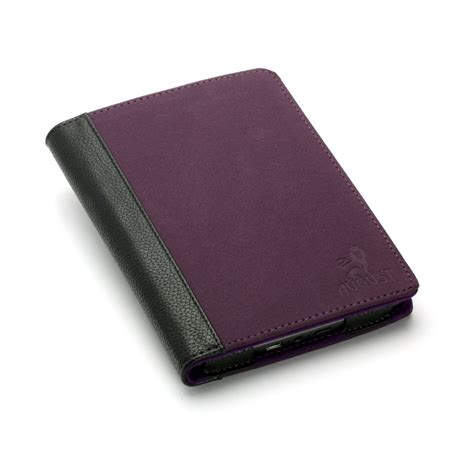 Kindle Touch Cover With Light by Purple Suede Cover With Rechargeable Led Light For Kindle