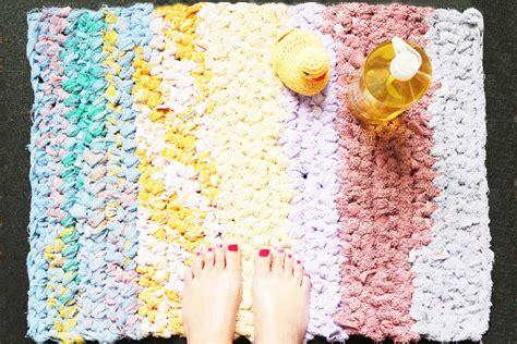 diy tapis de bain au crochet rock my
