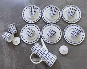 Geschirr Blau Weiß : melitta paris blau weiss jupp ernst kaffeeservice 6 pers ~ Markanthonyermac.com Haus und Dekorationen