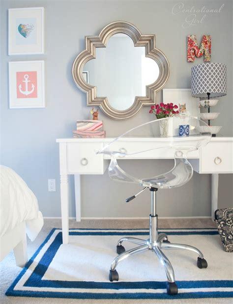 navy coral bedroom centsational
