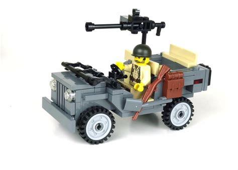 Rhib Kopen by Willys Jeep World War 2 Army Builder Complete Custom Set