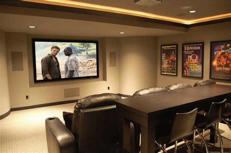 Home Theater Room Paint Color Design Ideas Pictures