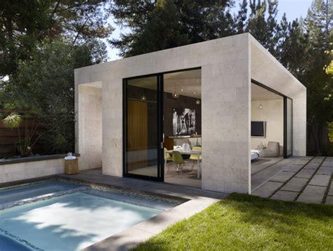 bevan associates portfolio modern poolhouse
