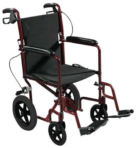 expedition lightweight transport chair by drive exp19bl