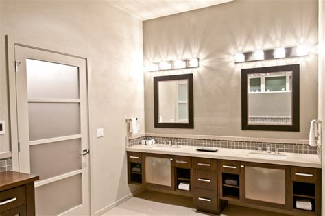 synergy master bathroom vanity modern bathroom portland by dc homes inc