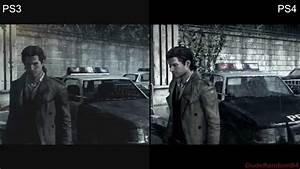 The Evil Within PS4 Vs PS3 Graphics Comparison - YouTube