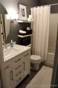 25 best ideas about small bathroom decorating on bathroom organization small guest