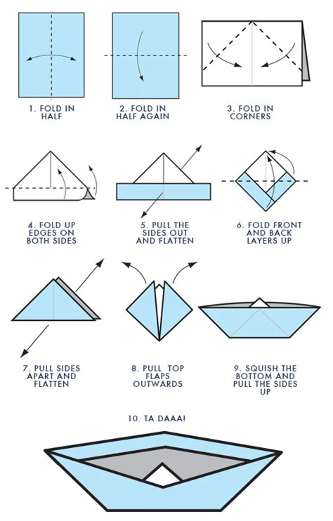 How To Make Paper Boat Download by How To Make A Origami Boat Easy How To Make A Paper Boat
