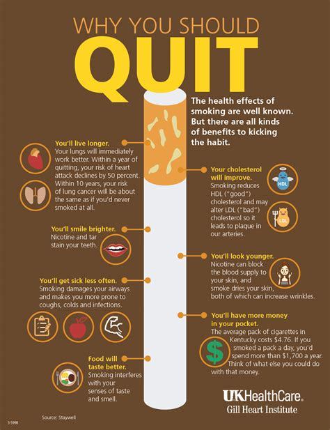 Why You Should Quit  Infographic Facts
