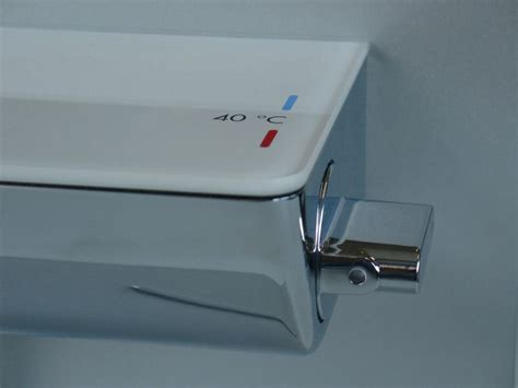 Sinks With Vanity Units by Hansgrohe Ecostat Select Thermostatic Shower Mixer For